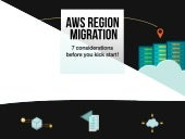 7 considerations for AWS Migration