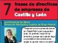 7 de directivos de empresas de Castilla y León