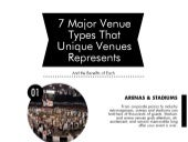 7 Major Venue Types That Unique Venues Represents