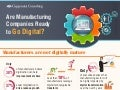 Are Manufacturing Companies Ready to Go Digital?
