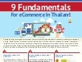 9 fundamentals for e-commerce in thailand