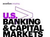 Accenture 2017 Global Risk Study: US Banking & Capital Markets Key Trends Infographic