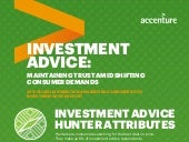 Investment Advice Hunter Infographic: 2017 Global Distribution & Marketing Consumer Study