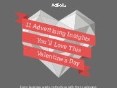AdRoll Inforgraphic - 11 Insights You'll Love This Valentine's Day
