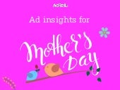 AdRoll Inforgraphic - 10 Mind Blowing Spend Trends This Mother's Day