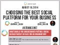 Choosing the Best Social Platform For Your Business