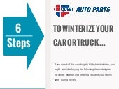 Autobarn.ca - 6 Steps to Winterize your Vehicle