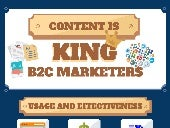 B2C Content Marketing Infograph
