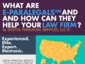 What are e-Paralegals™ and How Can They Help Your Law Firm?