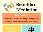 #Infograpghic - Benefits of #Mediation