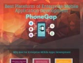 Best plateform of enterprise mobile application development – phone gap