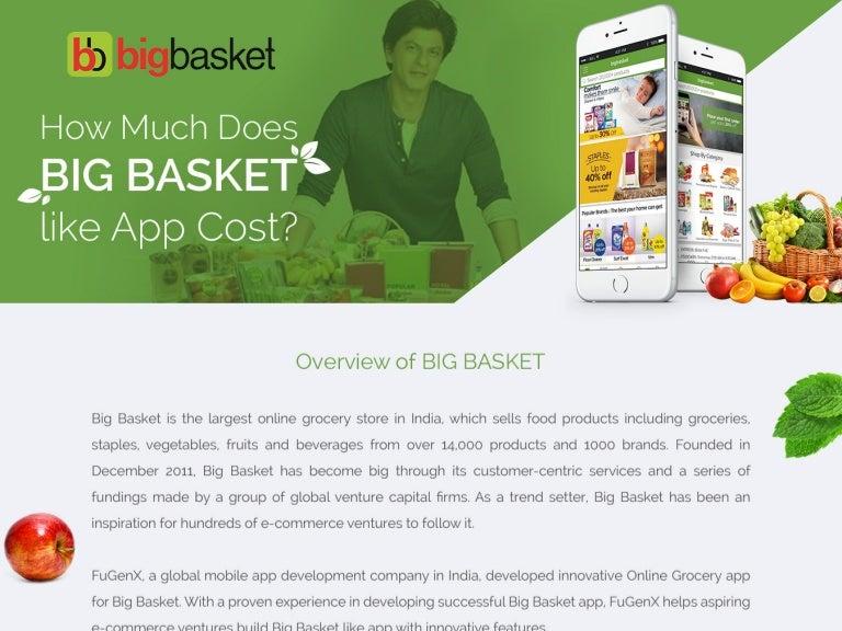 BigBasket-FuGenX-Mobile apps development company India