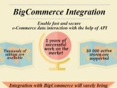 BigCommerce Integration: Enable Fast and Secure Data Interaction with the Help of API