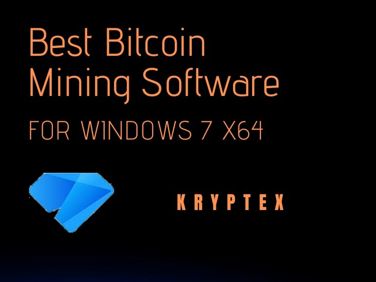 software windows bitcoin mining windows