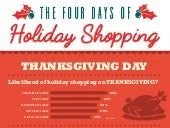 The 4 Days of HOLIDAY SHOPPING