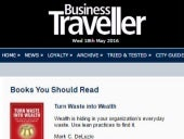 X Makes the Business Traveller List May 2016
