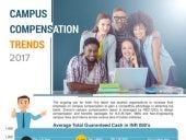 Campus Compensation Trends in India - 2017