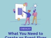 Infographic Checklist: What You Need To Create An Event Flyer