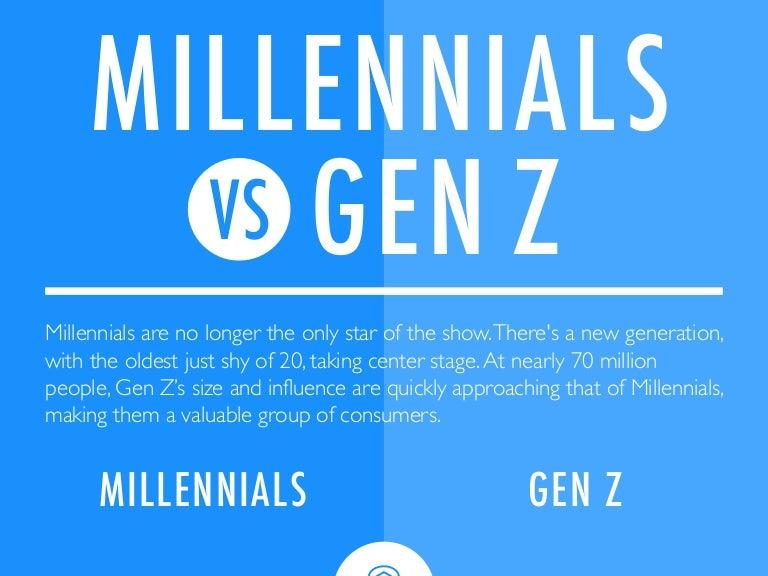 millennials vs gen z