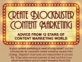 Create Blockbuster Content Marketing - CMWorld 2015 Infographic