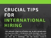 Crucial Tips For International Hiring