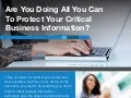 7 Best Practices to Protect Critical Business Information [Infographic]
