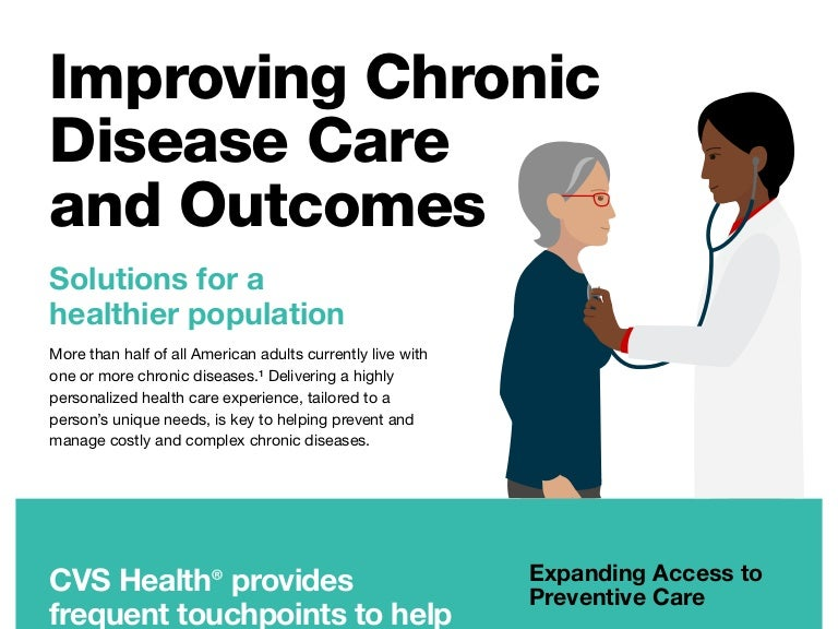 Improving Chronic Disease Care and Outcomes | CVS Health