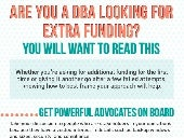 Infographic: Are you a DBA looking for extra funding?
