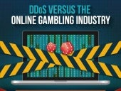 DDOS ATTACKS UPON GAMBLING SITES - INFOGRAPHIC