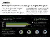 Deloitte's global cost survey report