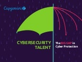 Infographic: Cybersecurity Talent - The Big Gap in Cyber Protection
