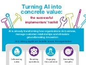 Infographic - Turning AI into Concrete Value: The Successful Implementers' Toolkit