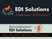 EDI Support Services | Benefits for Wholesalers and Distributors