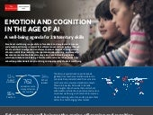 EMOTION & COGNITION IN THE AGE OF ARTIFICIAL INTELLIGENCE. #Infographic