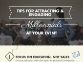 Tips For Attracting and Engaging Millennials At Your Event