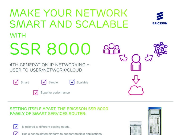 Smart services routers (ssr).