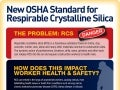 New OSHA Standard for Respirable Crystalline Silica (RCS) | #InfoGraphic Parker Hannifin