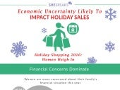 Economic Uncertainty Likely to Impact Holiday Sales