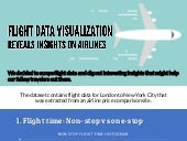 Flight Data Visualization Reveals Insights on Airlines