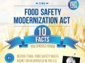Food Safety Modernization Act (FSMA) 10 Facts You Should Know Infographic