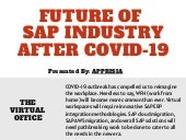Future of the SAP Industry after COVID-19