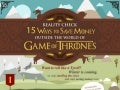 Game of Thrones Money Tips