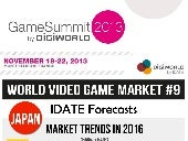 DigiWorld Game Summit - World Video Game Market #9