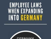 Employee Laws When Expanding Into Germany
