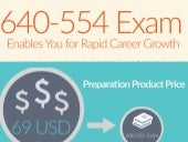 Get 640-554 exam practice tests for quick preparation [Infographic]