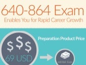 Get 640-864 exam practice tests for quick preparation [Infographic]