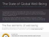 The State of Global Well-Being