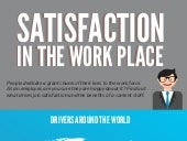 Satisfaction in the Work Place