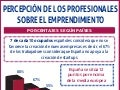 Percepción de los profesionales sobre el emprendimiento