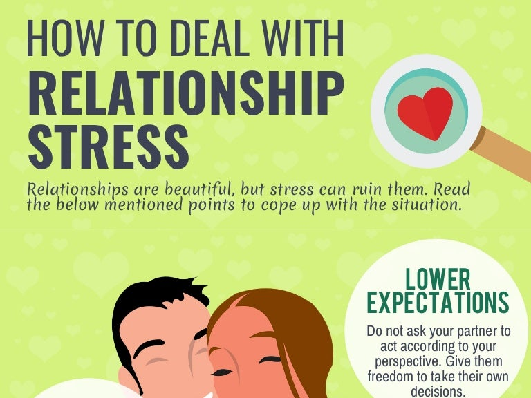 how to deal with stressful relationships